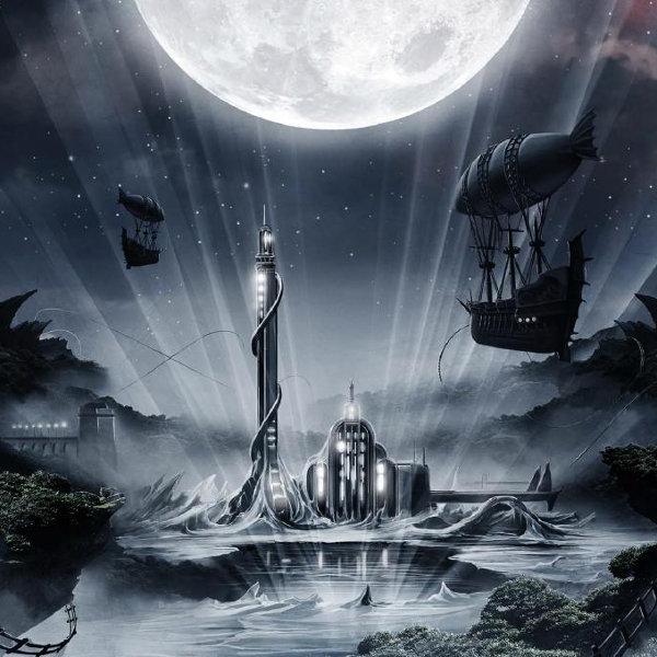 Layout de l'album Imaginaerum (NIGHTWISH)