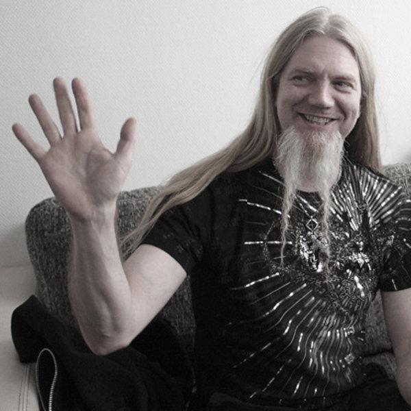 Marco Hietala à l'occasion de notre interview à Lyon le 20 avril 2012