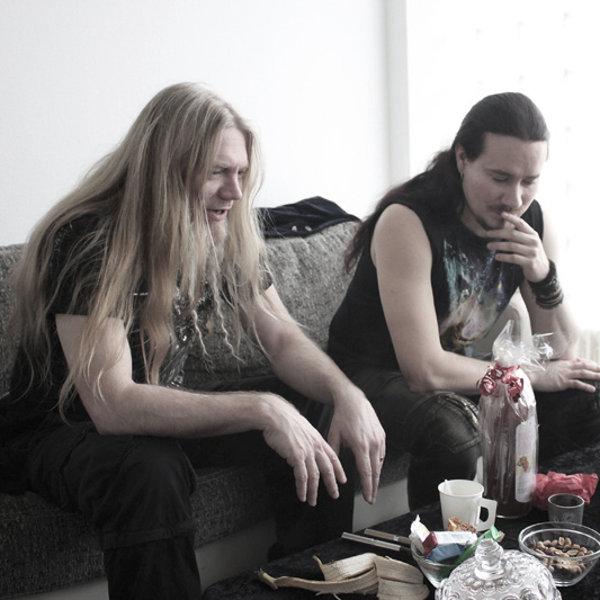 Tuomas et Marco à l'occasion de notre interview à Lyon le 20 avril 2012
