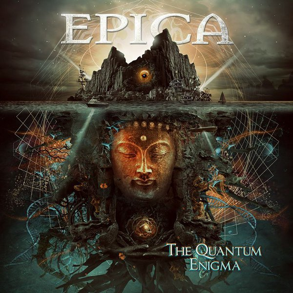Cover art of The Quantum Enigma album (2014)