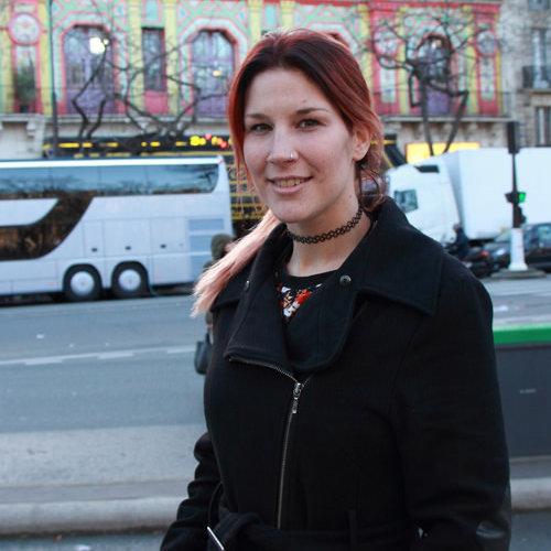 Charlotte Wessels à l'occasion de notre interview à Paris (Bataclan), le 14 janvier 2015