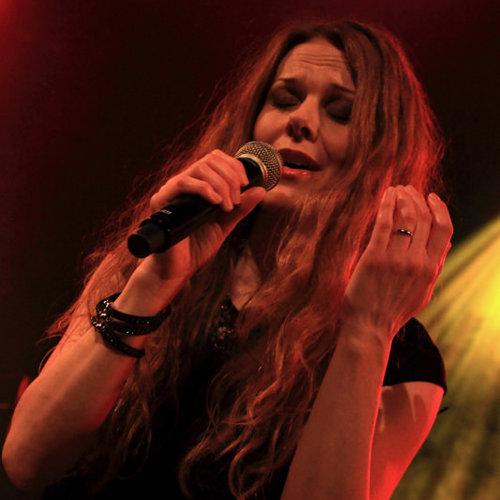 Kari Rueslåtten à l'occasion du concert de The Sirens à Paris, le 20 décembre 2014