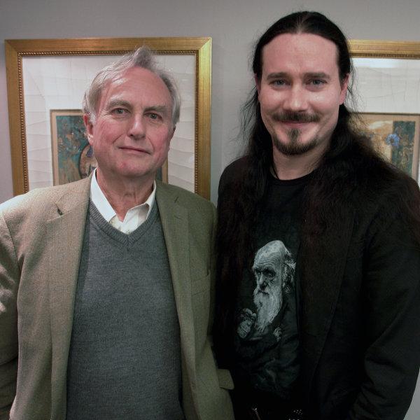 Tuomas meeting Richard Dawkins