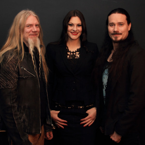 Marco, Floor and Tuomas just before our interview, the 9th of february 2015