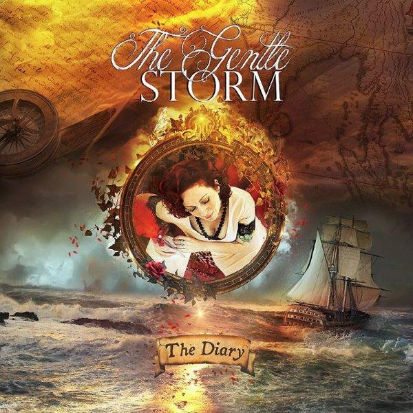 Pochette de The Diary, premier album de The Gentle Storm (2015)