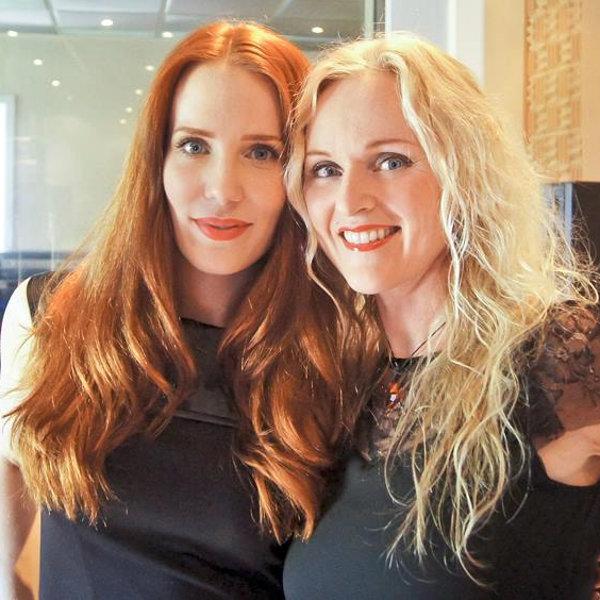 Liv Kristine et Simone Simons (EPICA) au studio Mastersound Entertainment
