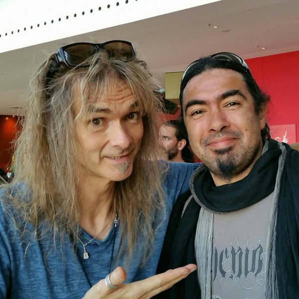 Pierre Le Pape (MELTED SPACE) et Arjen Lucassen (AYREON, STAR ONE, THE GENTLE STORM...)