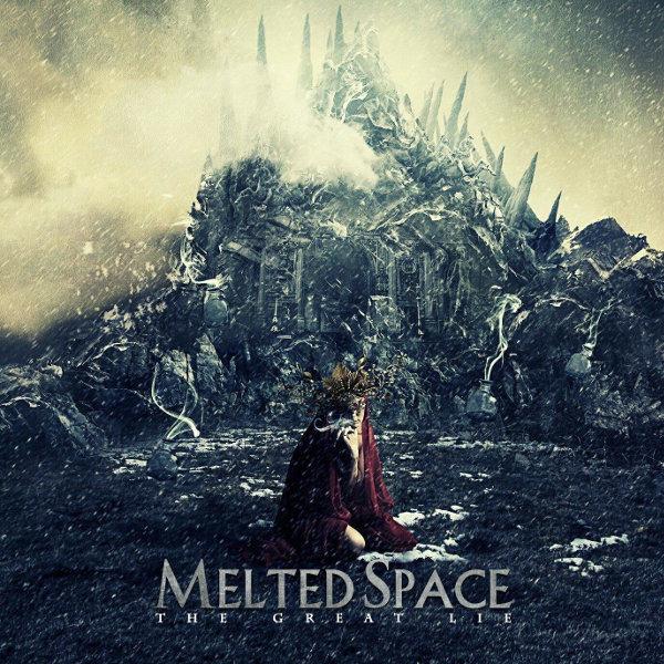 Pochette de The Great Lie, album de Melted Space (2015)