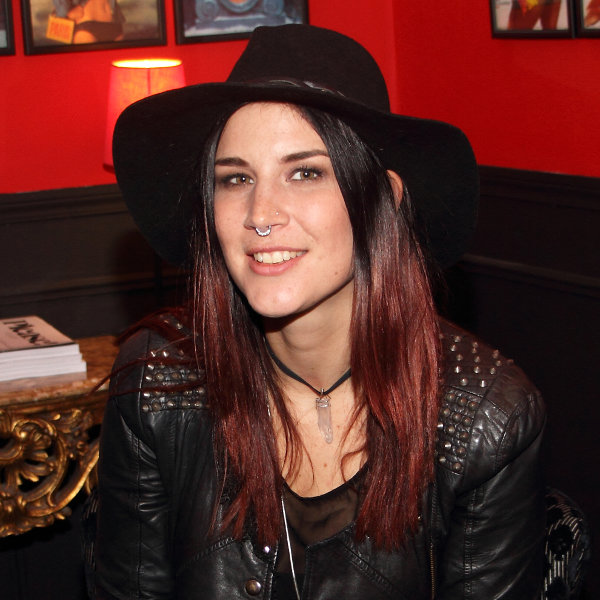 Charlotte de Phantasma à l'occasion de notre interview à Paris le 13 novembre 2015
