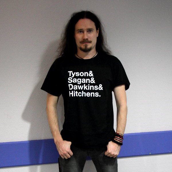 Tuomas Holopainen during our interview in Toulouse, the 26th of november, 2015