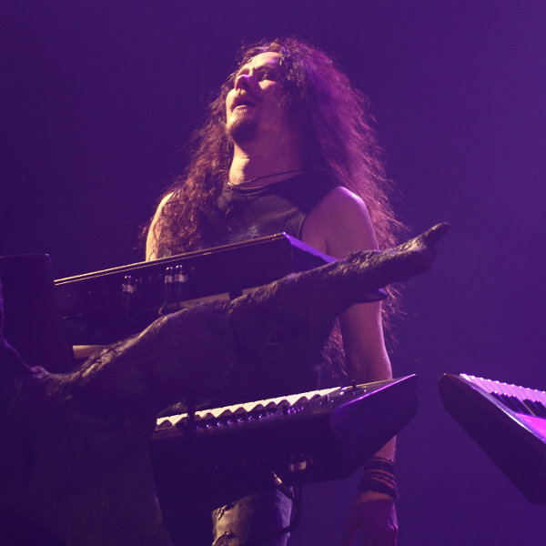 Tuomas Holopainen on stage at Zénith, in Toulouse, the 26th of november, 2015
