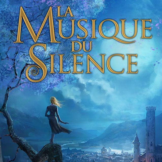 Covert art for Patrick Rothfuss' Music of Silence