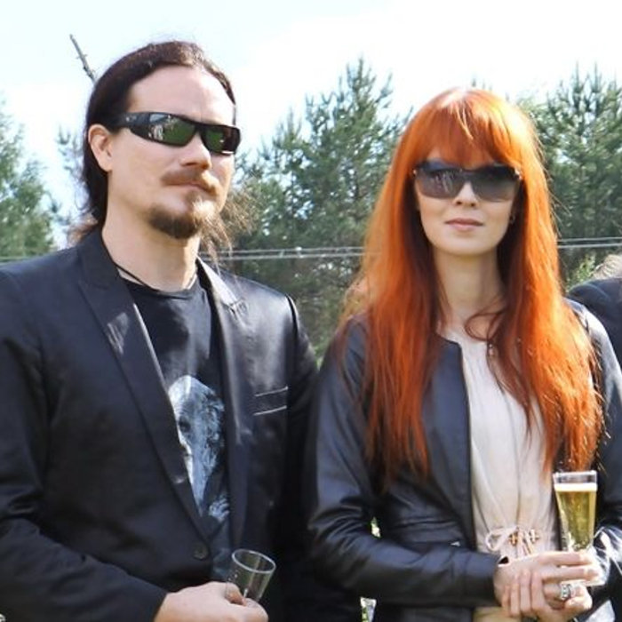 Tuomas, Johanna and Troy promoting Auri in Finlande