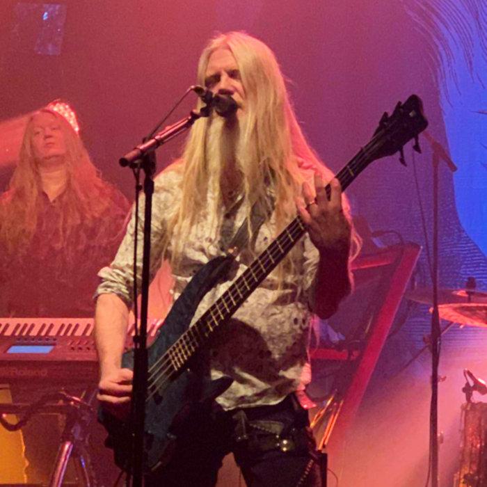 Marko Hietala on stage at La Machine, in Paris, 18th of february 2020